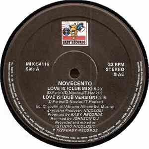 Novecento - Love Is (Remix) download